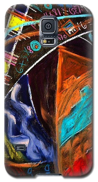 Galaxy S5 Case featuring the painting Passage Forward by Clarity Artists
