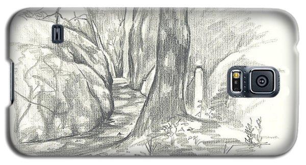 Passageway At Elephant Rocks Galaxy S5 Case