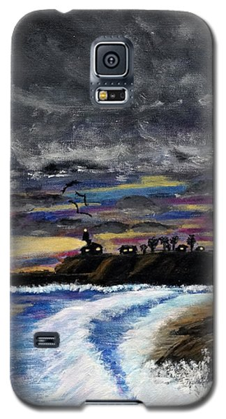 Passing Storm Galaxy S5 Case by Gary Brandes