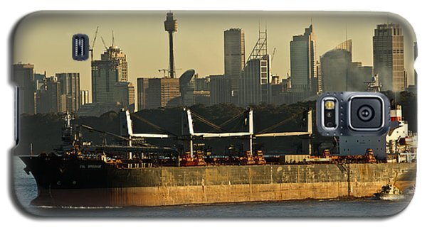Passing Sydney In The Sunset Galaxy S5 Case by Miroslava Jurcik