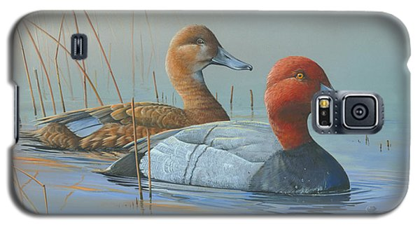 Galaxy S5 Case featuring the painting Passing Through by Mike Brown