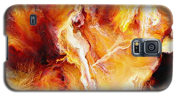 Passion - Abstract Art Galaxy S5 Case
