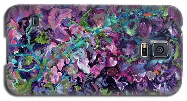 Galaxy S5 Case featuring the painting Passion by Anne Dentler