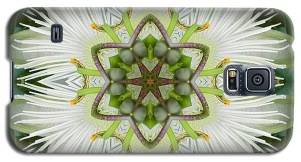 Passion Flower Mandala Galaxy S5 Case