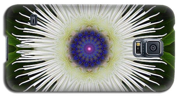 Passion Flower Portal Mandala Galaxy S5 Case