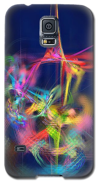 Passion Nectar - Circling The Flower Of Paradise Galaxy S5 Case by Menega Sabidussi
