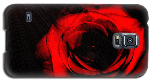 Passion. Red Rose Galaxy S5 Case
