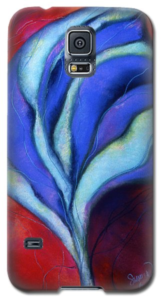 Galaxy S5 Case featuring the pastel Passion by Susan Will
