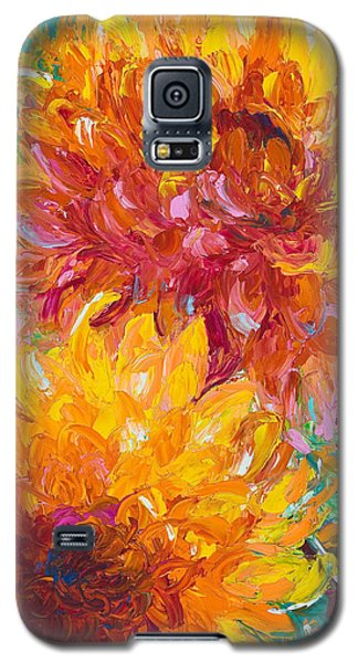 Impressionism Galaxy S5 Case - Passion by Talya Johnson