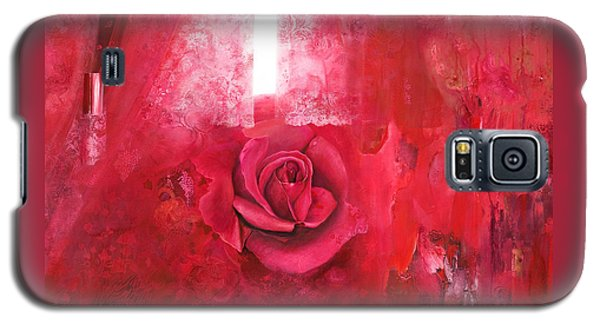 Passionately - Original Art For Home And Office Galaxy S5 Case