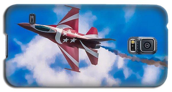 Pastel F-16 Galaxy S5 Case