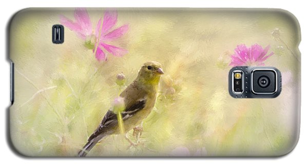 Pastel Finch In Oil Galaxy S5 Case