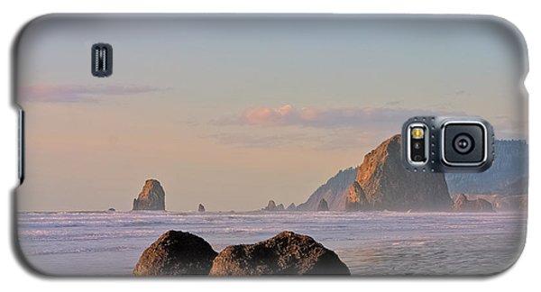 Pastel Haystack Rock Galaxy S5 Case