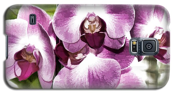 Pastel Orchids Galaxy S5 Case