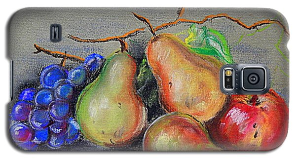 Pastel Pear Still Life Galaxy S5 Case by Michael Hoard