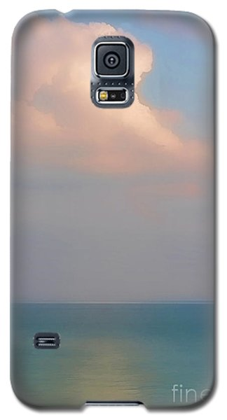 Pastel Seascape Galaxy S5 Case by Clare VanderVeen