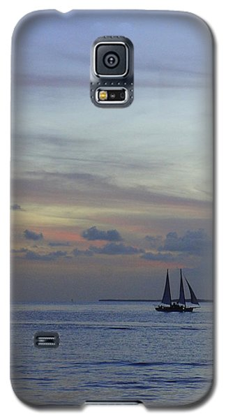 Galaxy S5 Case featuring the photograph Pastel Sky by Laurie Perry