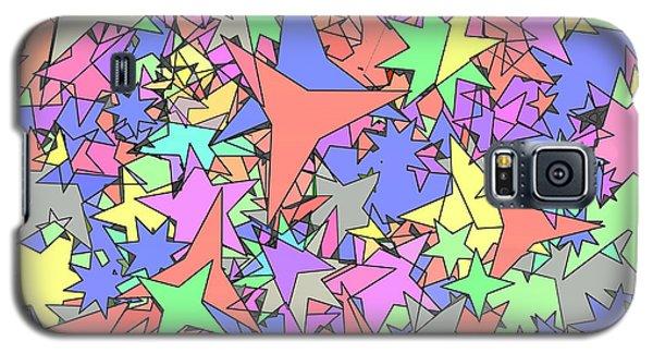 Pastel Stars Galaxy S5 Case