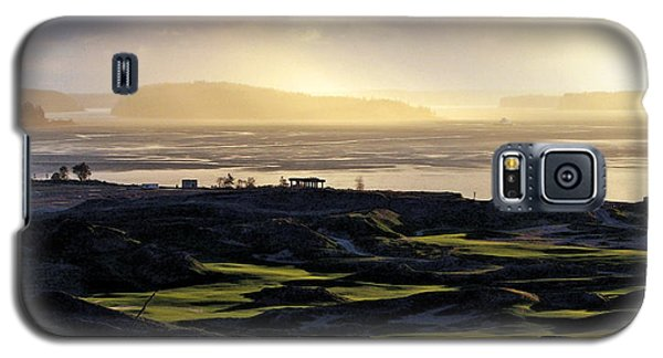Galaxy S5 Case featuring the photograph Pastoral Symphony - Chambers Bay Golf Course by Chris Anderson