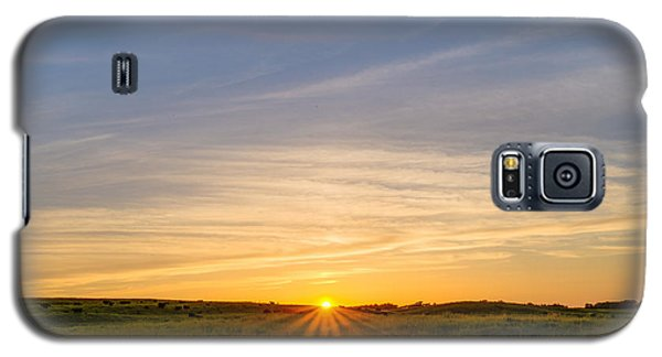 Pasture At Sunset Galaxy S5 Case