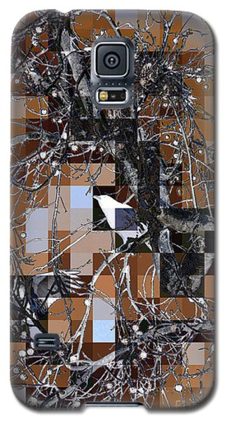 Patchwork Crows Galaxy S5 Case