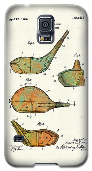 Patented Golf Club Heads 1926 Galaxy S5 Case