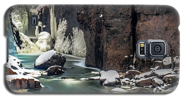 Paterson Falls Frozen Fantasy Galaxy S5 Case