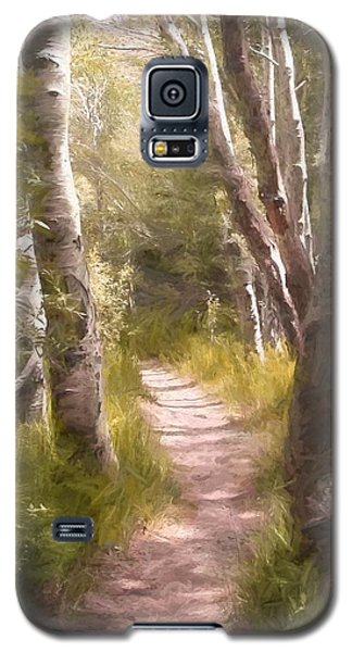 Galaxy S5 Case featuring the photograph Path 1 by Pamela Cooper