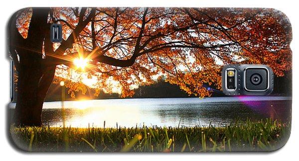 Path Into Autumn Galaxy S5 Case by Everett Houser