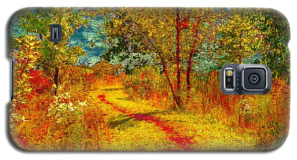 Path Through The Woods Galaxy S5 Case
