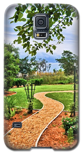 Garden Path To Wild Marsh Galaxy S5 Case