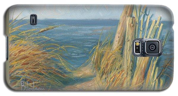 Path To The Beach Galaxy S5 Case