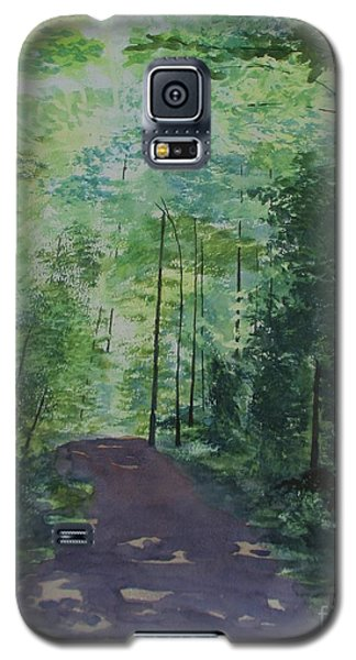 Galaxy S5 Case featuring the painting Path To The River by Martin Howard