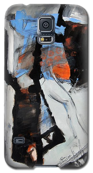 Galaxy S5 Case featuring the painting Pathways by Ron Stephens