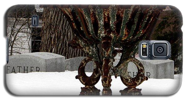 Patina In Snow Galaxy S5 Case