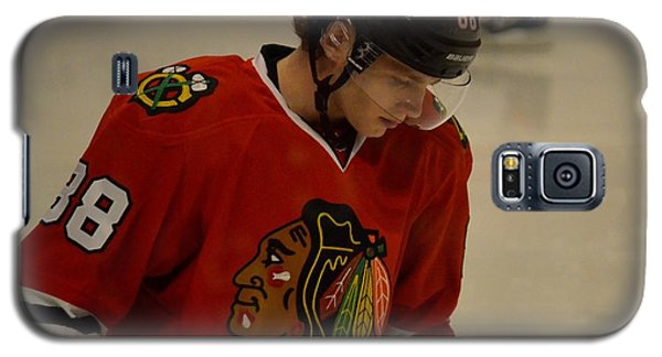 Galaxy S5 Case featuring the photograph Patrick Kane Reflects by Melissa Goodrich
