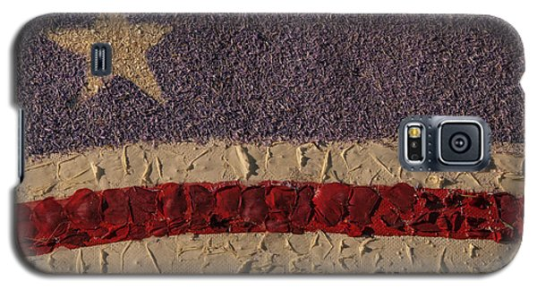 Patriotic Background Horizontal Galaxy S5 Case