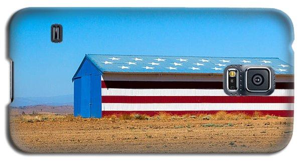 Patriotic Barn Galaxy S5 Case