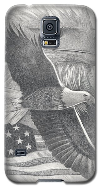 American Bald Eagle Galaxy S5 Case