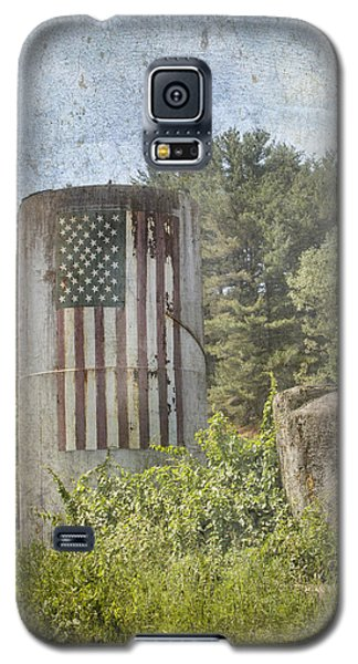 Patriotic Farm Silo Galaxy S5 Case