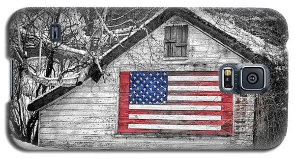 Patriotic American Shed Galaxy S5 Case