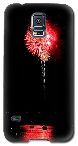 Patriotic Red Reflections Galaxy S5 Case
