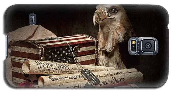 Patriotism Galaxy S5 Case by Tom Mc Nemar