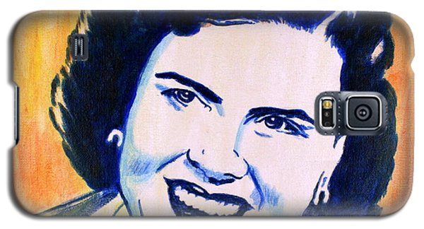 Patsy Cline Pop Art Painting Galaxy S5 Case
