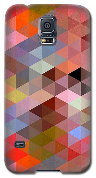 Pattern Of Triangle Galaxy S5 Case by Mark Ashkenazi