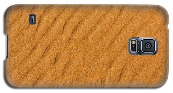 Galaxy S5 Case featuring the photograph Patterned Sand by Justin Albrecht