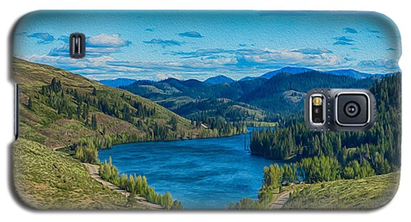 Patterson Lake In The Summer Galaxy S5 Case