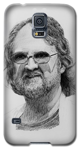 Galaxy S5 Case featuring the drawing Paul Rebmann by Daniel Reed