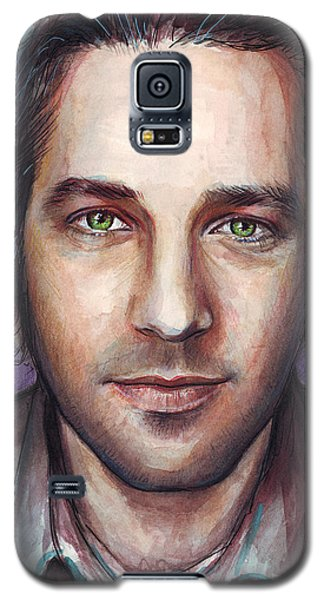 Paul Rudd Portrait Galaxy S5 Case