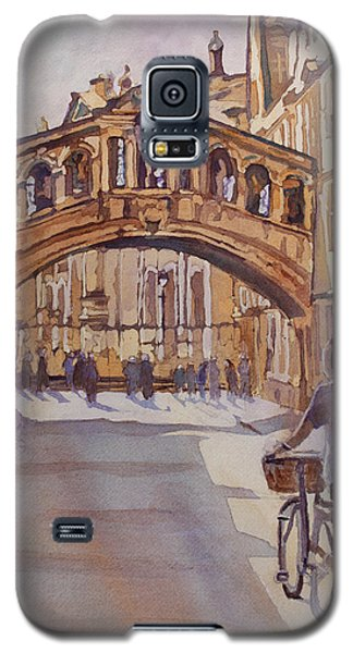 Pausing Before The Bridge Galaxy S5 Case by Jenny Armitage